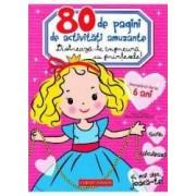 80 de pagini de activitati amuzante. Distreaza-te impreuna cu printesele - Valerie Videau Marie-Helene Gregoire