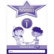 Rising Stars Mathematics Year 1 Practice Book Pack (Single Copies of Books A, B and C)