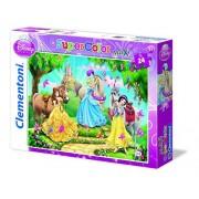 Clementoni 24447 - Princess And Horses - Maxi puzzle 24 pezzi