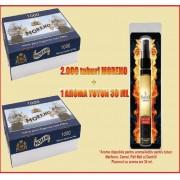 2 Moreno 1000 si aroma 30 ml pentru tutun