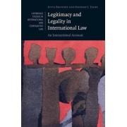 Legitimacy and Legality in International Law by Jutta Brunnee