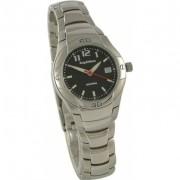 Krug Baumen 040436KL Ladies Sentinal Black Steel Watch