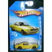 HOT WHEELS 2010 FASTER THAN EVER YELLOW 04 OF 10 FORD MUSTANG FASTBACK by Mattel