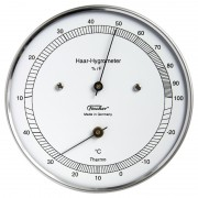 Statie meteo Eschenbach Termohigrometru otel inoxidabil 528203