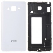 iPartsBuy Full Housing Cover(Front Housing LCD Frame Bezel Plate + Rear Housing) for Samsung Galaxy A5 / A500(White)