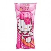 Colchão Bronzeador Hello Kitty 58718 Rosa Intex
