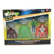 Ben 10 Ultimate Alien Collection Figure Set [Toy]