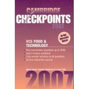 Cambridge Checkpoints VCE Food and Technology 2007 2007 by Glenis Heath