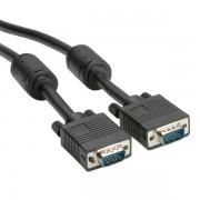 ROLINE 11.04.5660 :: ROLINE High Quality кабел с ферит + DDC, HD15 M - HD15 M, 10.0 м