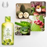 GraVital Juice CaliVita - suc de GRAVIOLA certificat organic