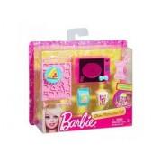 Mattel - Set Micro-Ondes Et Accessoires Cuisine Maison Barbie