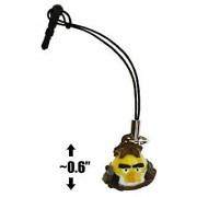 Han Solo Bird ~0.6 Angry Birds Star Wars Mini-Figure Phone Dangler Series #1