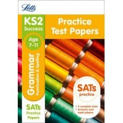 KS2 English Grammar, Punctuation and Spelling SATs Practice Test Papers by Letts KS2