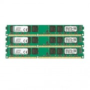 Kingston KVR13N9K3/24 Memoria RAM da 24 GB, 1333 MHz, DDR3, Non-ECC CL9 DIMM Kit (3x8 GB), 240-pin, 1.5 V