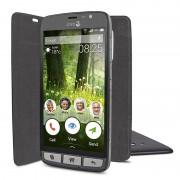 Doro 825 - Funda Flip para Teléfono Movil -Negra-