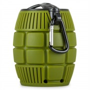 ONEconcept Grenadier Mobile Bluetooth Speaker (BTS5-Grenadier-Olive)