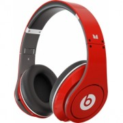 Casca Beats by Dr. Dre MONSTER STUDIO HIGH-DEFINITION OVER-THE-EAR RED