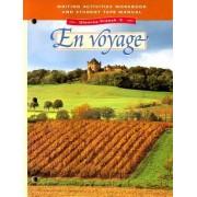 Glencoe French: En Voyage; Level 3 by Schmitt