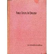 First Steps In English, Premiere Annee D'anglais, Classes Elementaires Et Preparatoires