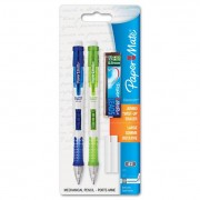 Clear Point Mechanical Pencil Starter Set, 0.9 Mm, Lime Green, Royal Blue, 2/set