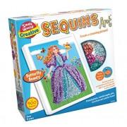 Small World Toys Creative - Sequins Art Butterfly Beauty Creativer Sequins Art
