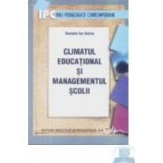 Climatul educational si managementul scolii - Daniela Ion Barbu