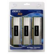 Super Talent Chrome Series mtxtec 12 GB (1600 mhz, 3 x 4 GB) DDR3-RAM Kit3