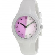 X-Up Ombre Shaded Dial White Plastic Ladies Watch
