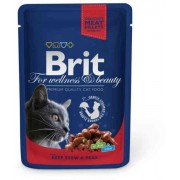 Brit Premium Cat Chicken & Turkey 100g alutasakos