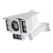 Caméra CCTV extérieur Weatherproof - 6 LEDs en rang / Vision nocturne 60 mètres / 800 lignes TV