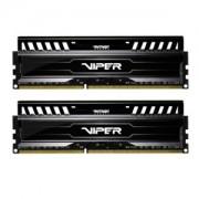 Memorie Patriot Viper 3 Black Mamba 16GB (2x8GB) DDR3, 1600MHz, PC3-12800, CL10, XMP, Dual Channel Kit, PV316G160C0K