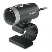 Microsoft H5D-00014 Lifecam Cinema Webcam, Nero
