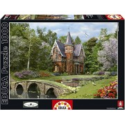 Educa 15519 1000 - Casolare Di Cobbled Bridge - Dominic Davison