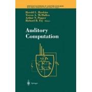 Auditory Computation by Harold L. Hawkins
