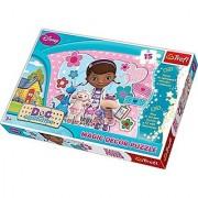 Trefl Disney Dora Doc McStuffins Magic Decor Puzzle/Jigsaws 15 elements