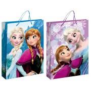 Disney Jégvarázs ajándékzacskó - közepes