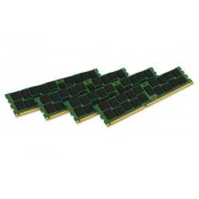 Kingston KVR16R11S8K4/16I Memoria RAM da 16 GB, 1600 MHz, DDR3, ECC Reg CL11 DIMM Kit (4x4 GB), 240-pin, Certificata Intel