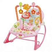 Mattel - Fisher Price Baby Gear - Y8184 - Seggiolino Dondolino del Coniglietto Rosa