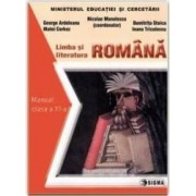 Romana cls 11 - Nicolae Manolescu George Ardeleanu Matei Cerkez Dumitrita Stoica