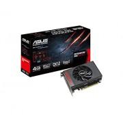 Asus Radeon R9NANO-4G Scheda Madre, Nero/Rosso