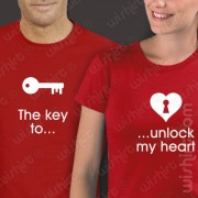 T-shirts The key to unlock