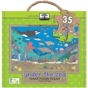 Innovative Kids Start Giant Floor Puzzles Under The Sea Puzzle (35 Piece), Green