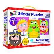 Galt - Ga1004468 - Puzzle Classic - Da Sticker Funny Face