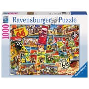 Puzzle Route 66, 1000 piese