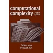 Computational Complexity by Sanjeev Arora