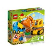 LEGO® DUPLO® Camion si excavator pe senile (10812)