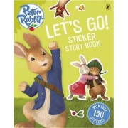 Peter Rabbit Animation: Let's Go! Sticker Story Book by Beatrix Potter