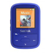 SanDisk - Clip Sport Plus 16GB Wearable Bluetooth MP3 Player (Blue)