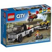 Конструктор ЛЕГО Сити - Състезателен отбор с ATV - LEGO City Great Vehicles, 60148