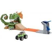 Jucarie Hot Wheels Monster Jam Dragon Arena Attack Playset